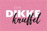 Roze dikke knuffel