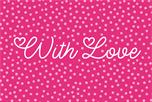 With love wenskaart