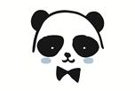 Panda jongen