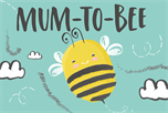 Mum-to-bee kaart