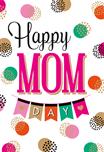 Happy mom wenskaart
