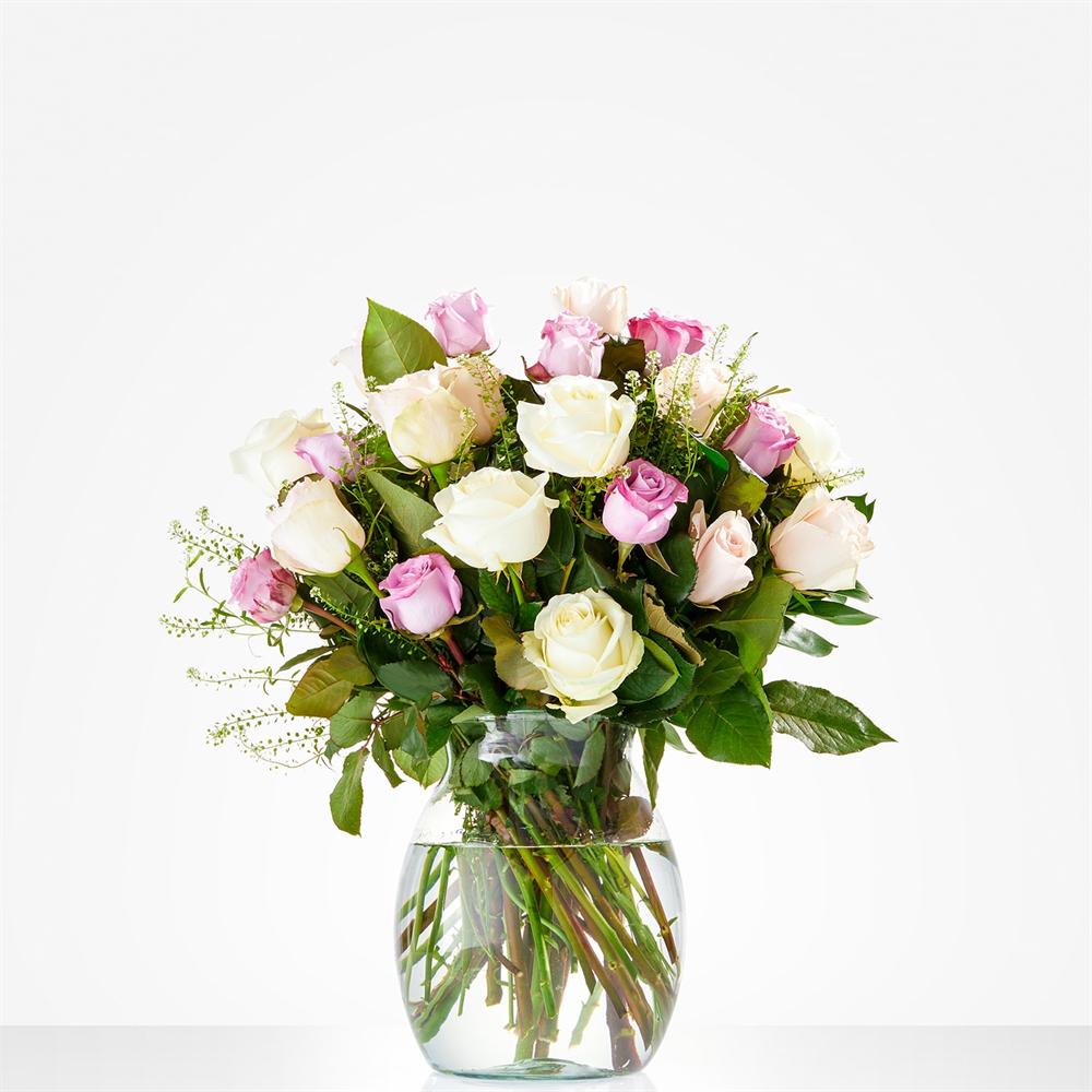 Rozen boeket  - Zachte rozen